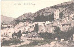 FR66 OLETTE - Brun 276 - Colorisée - Un Coin Du Village - Belle - Autres Communes