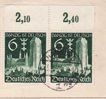 Hamburg 1939 Deutschland Otto Edmund Eiffe Dantzig Ist Deutsch Trooz Belgique Hambourg - Briefe U. Dokumente