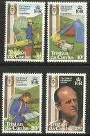 Tristan Da Cunha - 1981 Duke Of Edinburgh Scheme Set Of 4 MNH **     SG 311-4    Sc 297-300 - Tristan Da Cunha