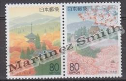 Japan - Japon 1995 Yvert 2233-34, Views Of Yoshino, Nara - MNH - Nuevos