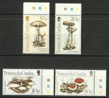 Tristan Da Cunha - 1984 Mushrooms Set Of 4 MNH **     SG 369-72    Sc 352-5 - Tristan Da Cunha