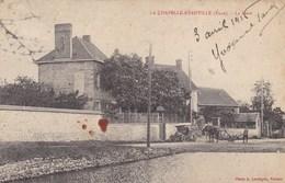 LA CHAPELLE RÉANVILLE - EVREUX - EURE -  (27)  - CPA .ANIMÉE 1916 - Autres Communes