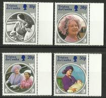 Tristan Da Cunha - 1985 Queen Mother Set Of 4 MNH **  SG 390-3   Sc 372-5 - Tristan Da Cunha