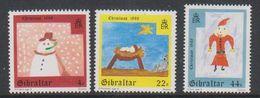 Gibraltar 1988 Christmas 3v ** Mnh (38270G) - Gibilterra