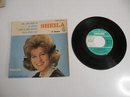 Sheila, Avec Autographe, Oui C'est Pour Lui / L'ami De Mon Enfance Vinyle 45 T (1964) - Collector's Editions