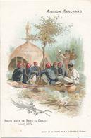 CHOCOLAT D'AIGUEBELLE - MISSION MARCHAND - HALTE DANS LE BAHR-EL-GAZAL JUIN 1897 - Aiguebelle