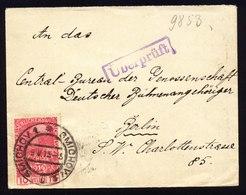 A5457) Österreich Austria Brief Smichow 9.5.15 Berlin Zensur - 1850-1918 Imperium