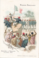 CHOCOLAT D'AIGUEBELLE - MISSION MARCHAND - ARRIVEE A FASHODA 10 JUILLET 1898 - Aiguebelle