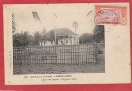CPA: Côte D'Ivoire - Grand Lahou - La Résidence - Façade Sud - Ivory Coast