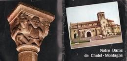 Dépliants Touristiques Notre Dame De Chatel Montagne Petit Livret - Tourism Brochures