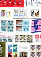 FRANCE Neufs 50%sous Faciale:lot 16 Carnets Différents1991/96 Sans Charnière PORT FRANCE GRATUIT - Carnets