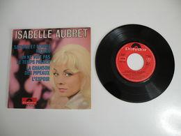 Isabelle Aubret, Sauvage Et Tendre Mexico / La Chanson Des Pipeaux  (Vinyle 45 T - 4 Titres 1965) - Collector's Editions