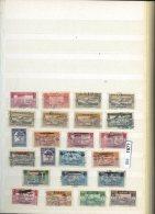 BM1877, Xx, X, O, Libanon Umfangreiche Sammlung Auf Ca. 12 A4-Seiten - Lebanon