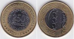Comoros / Comores - 250 Francs 2013 UNC Ukr-OP - Comoros