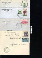Libabon, 100 Ältere Briefe Gelaufen, Mit Z.T. Stärkeren Gebrauchsspuren - Liban