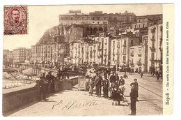 NAPOLI - Via Santa Lucia Hôtel Vesuvio Ed Il Monte Echio - Napoli