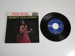 Nancy Holloway, Désappointés / A Quoi ça Sert Les Pleurs (Vinyle 45 T - 4 Titres 1963) - Collector's Editions