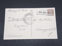 DANEMARK - Oblitération Rectangulaire Sur Carte Postale En 1938 - L 17301 - 1913-47 (Christian X)