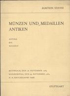 Livre En Allemand - Revue Auktion XXXVIII - Münzen Und Medaillen Antiken (Antike Bis Neuzeit) - Revues & Journaux