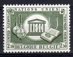 Belgie Belgique 1958 Nations Unies United Nations Verenigde Naties UNESCO - UNESCO