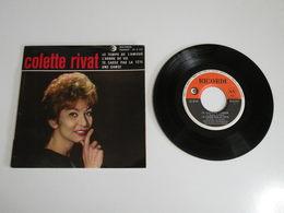 Colette Rivat, Le Temps De L'amour / L'Arbre De Vie (Vinyle 45 T - 4 Titres 1962) - Collector's Editions