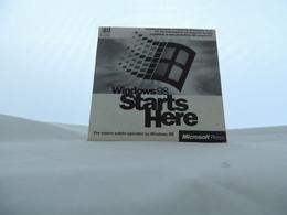 Cd Microsoft Windows 98 Start Here - CD