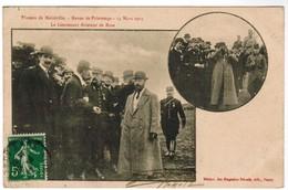 CPA Plateau De Malzéville, Revue De Printemps, 14 Mars 1912, Le Lieutenant Aviateur De Rose (pk44611) - Aviadores