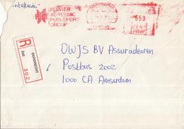 Nederland - Aangetekend/Recommandé Brief Vertrek Dordrecht - Aantekenstrookje Dordrecht 302 - Poststempels/ Marcofilie