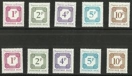 Tristan Da Cunha - 1976 Postage Dues Set Of 10 MNH **     SG D6-15    Sc J6-10 + J6a-10a - Tristan Da Cunha