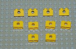 Légo Technic 10 X Jaune 1x2 Ref 3700 - Lego Technic
