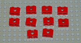 Légo Technic 10 X Rouge 1x2 Ref 3700 - Lego Technic
