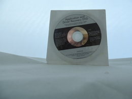 Cd Hp O Compaq Application And Driver Recovery Dvd - CD