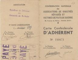 35. Saint-Malo. Syndicat De Défense Des Sinistrés De St-Malo - 1948-1954  - VR_SM_Ver2 - Historical Documents
