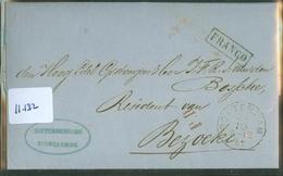 HANDGESCHREVEN BRIEF Uit 1862 Gelopen Van ROTTERDAM Naar BESOEKI NEDERLANDS-INDIE  (11.132) - Periode 1852-1890 (Willem III)