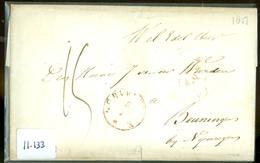 HANDGESCHREVEN BRIEF Uit 1851 Gelopen Van 's-GRAVENHAGE Naar BEUNINGEN  (11.133) - Nederland