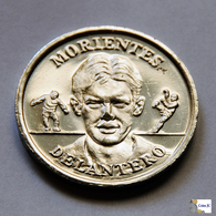 """España - Medalla Selección 2000 - """"MORIENTES"""" . - Profesionales/De Sociedad"""