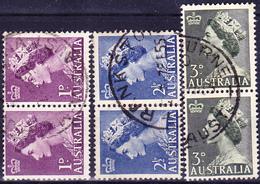 Australien Australia - Königin Elisabeth II. (MiNr: 234/6) 1953 - Gest Used Obl - Used Stamps