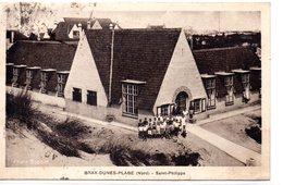 Nord : Bray-dunes : Eglise Saint-philippe - Bray-Dunes