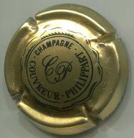 CAPSULE-CHAMPAGNE COUVREUR PHILIPPART N°05 Or - Champagne