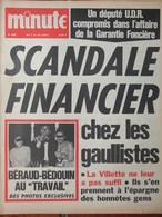 Minute N°482 (7/13 Juil 1971) Scandale Financier Gaullistes - Béraud-Bédouin - Argenteuil - Fedosseiev - 1950 - Today
