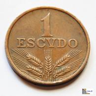 Portugal - 1 Escudo - 1970 - Portugal