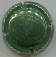 CAPSULE-CHAMPAGNE GENET Michel N°01 Vert Foncé & Or - Champagnerdeckel