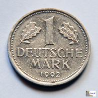 Germany -  1 Mark - 1992 - [ 7] 1949-… : RFA - Rep. Fed. Alemana