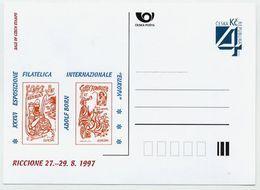 CZECH REPUBLIC 1997 Postcard Europa Riccione '97 Unused.  Michel P26-A4 - Postal Stationery