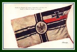 CPA Croix Rouge Pavillon Du Zeppelin Z 8 Abattu à Badonviller Le 24 Août 1914 Non écrite (scan Verso) - Oorlog 1914-18