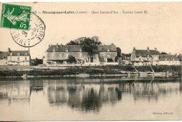 45. Meung Sur Loire. Quai Jeanne D'arc. écuries Louis XI - Autres Communes