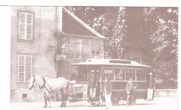 54  NANCY Reproduction Nancy Tramway Hippomobile - Nancy