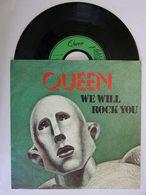 Vinyle 45 Tours 1977 QUEEN We Will ROCK YOU - Rock