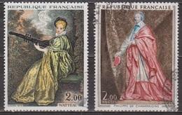 Art - Peinture - FRANCE - La Finette De Watteau - Cardinal Richelieu Par Philippe De Champaigne - N° 1765-1766 - 1973 - France