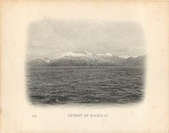 DETROIT DE MAGELLAN CAMPAGNE DU DUGUAY TROUIN - Chili